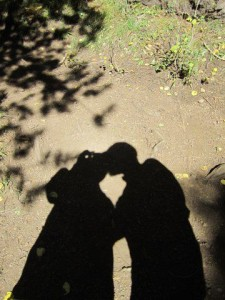 Lovers shadow